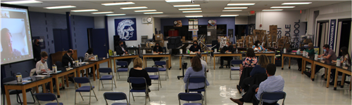 Board of Education meeting at Glen Crest on May 3, 2021